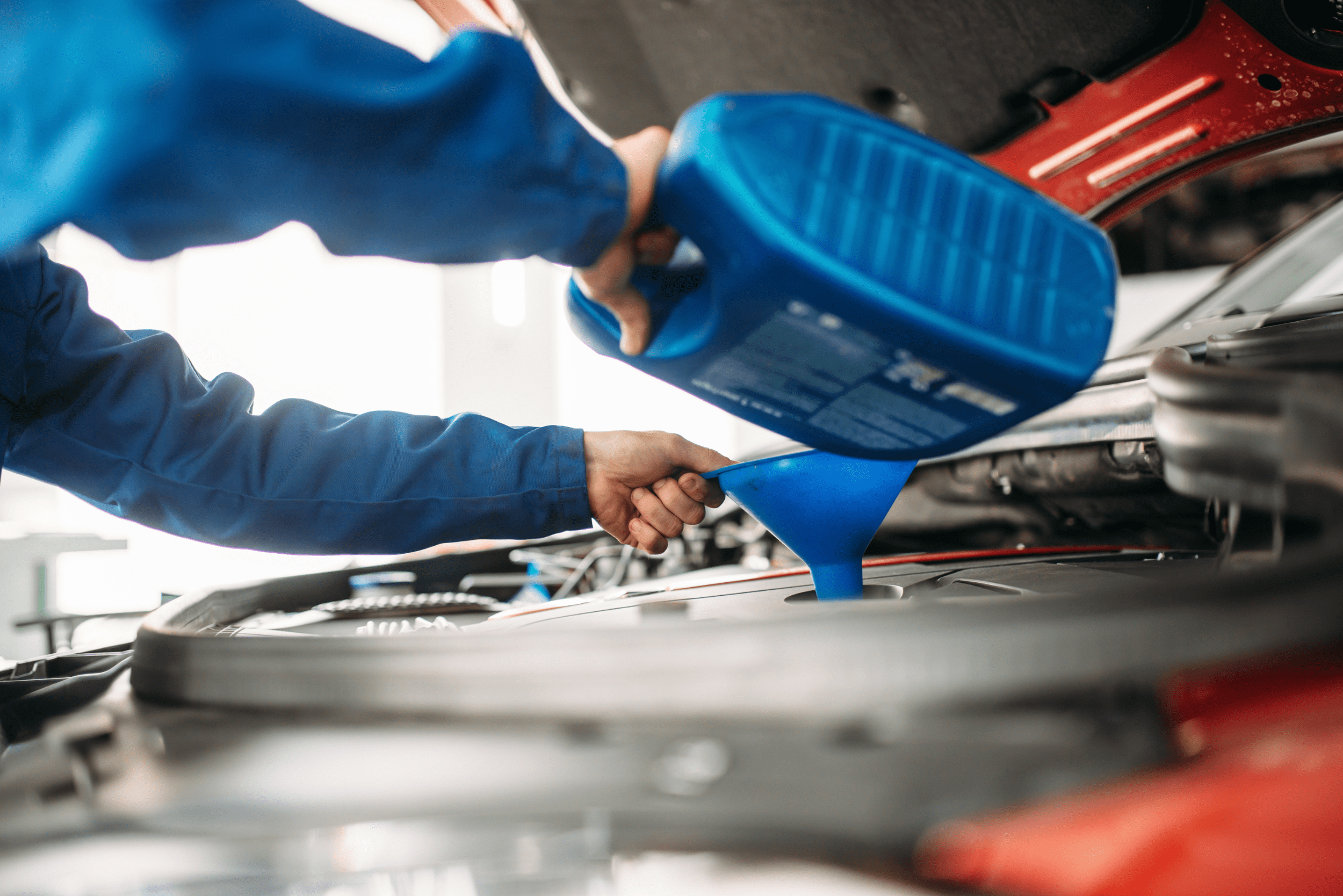 Oil and filter service